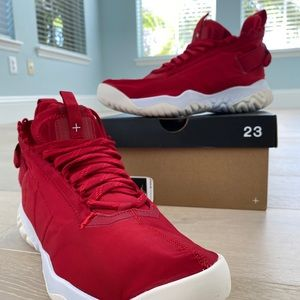 NWB 🔥 NEW Jordan Air Proto NIKE React Gym RED